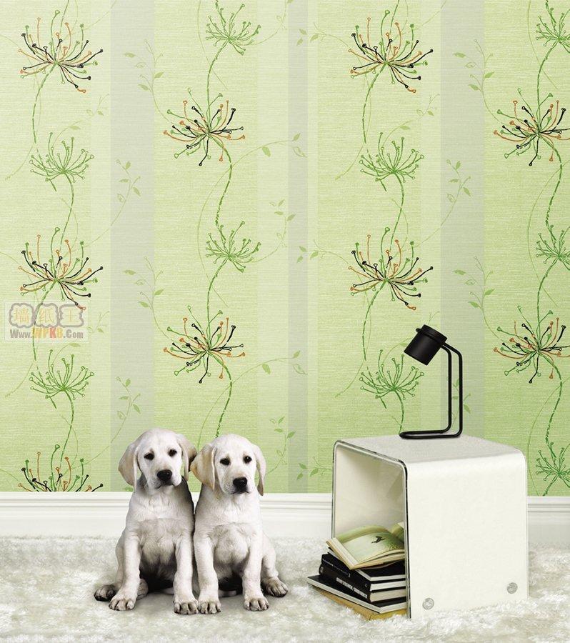 现代客厅墙纸装修效果图展示
