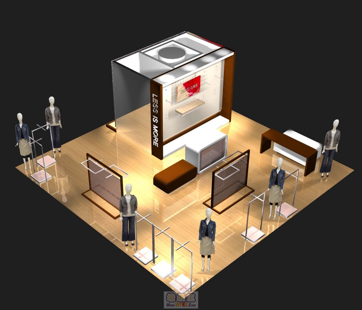 服装店铺装修设计图_服装店铺装修设计图设计
